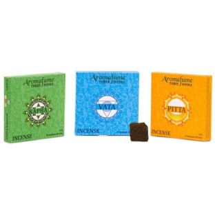 Aromafume incense bricks 3 dosha combi pack